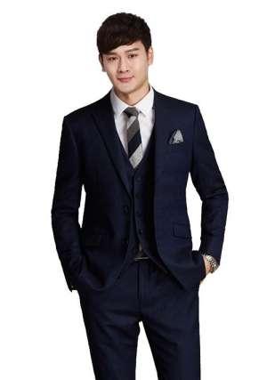 商务休闲西服打领带的时候需要注意的有哪些?