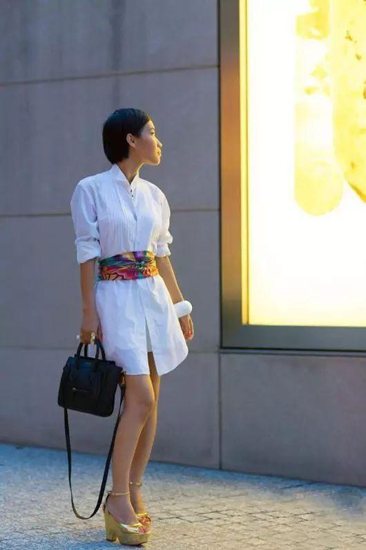 真丝衬衫是高级优雅的代名词